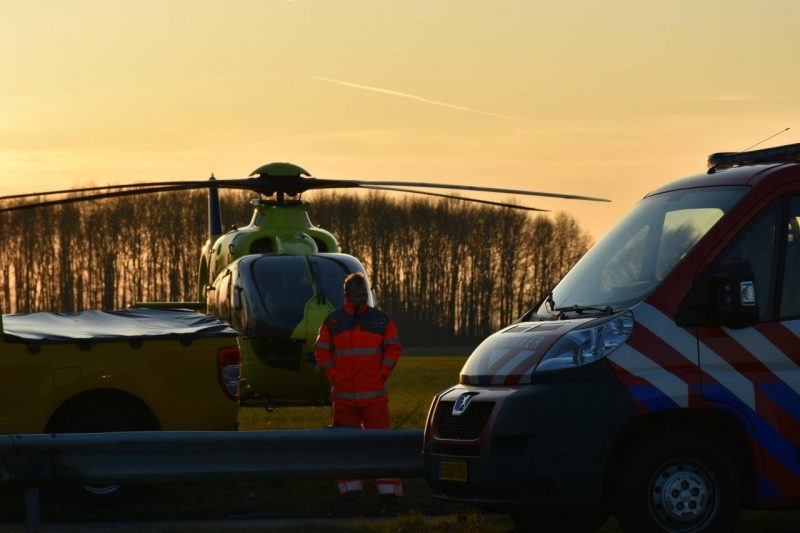 Auto in brand na ongeval-6
